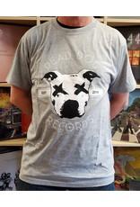 Dead Dog T-Shirt 2019 - Full Logo (Grey) 2XL