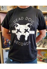 Dead Dog T-Shirt 2019 - Full Logo (Black) Med