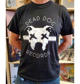 Dead Dog T-Shirt 2019 - Full Logo (Black) Med