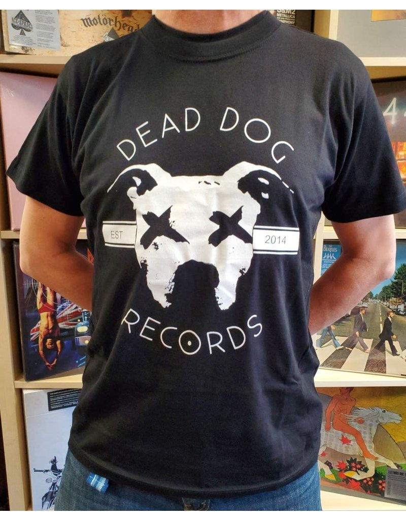 Dead Dog T-Shirt 2019 - Full Logo (Black) 3XL