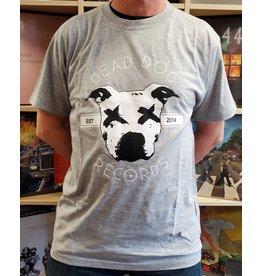 Dead Dog T-Shirt 2019 - Full Logo (Grey) XL