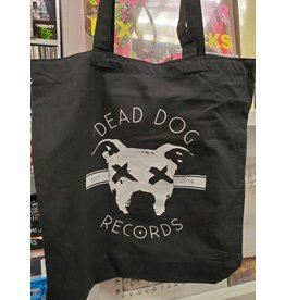 Dead Dog Tote Bags