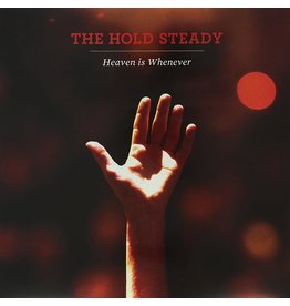 (LP) The Hold Steady - Heaven Is Whenever (Indie: Red & Orange Marble 10 yr Ann)