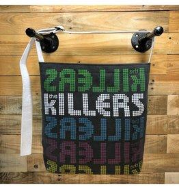 Goodfarken (Tee Bag) Killers - Repeating Band Name Backwards/forwards