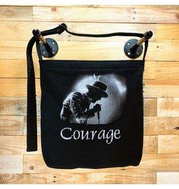 Goodfarken (Tee Bag) Tragically Hip - Gord Downie, Courage (Black)