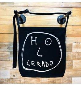 Goodfarken (Tee Bag) Holerado - Name as Face (White on Black)