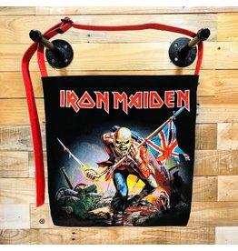 Goodfarken (Tee Bag) Iron Maiden - Eddie w/ British Flag (Black)