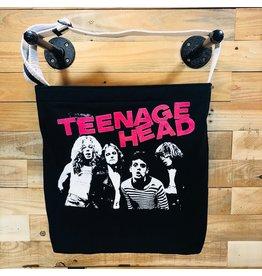 Goodfarken (Tee Bag) Teenage Head - Image of the Band w/ Pink Name (Black)