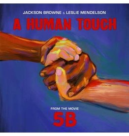 """(LP) Jackson Browne & Leslie Mendelson - A Human Touch 7"""" BF19"""