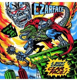 (LP) Czarface	- The Odd Czar Against Us (Green/Alternate Artwork) BF19