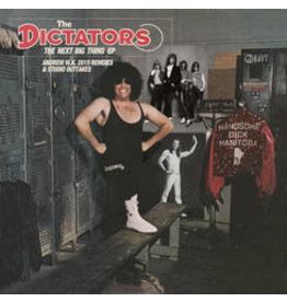 """(LP) Dictators - Next Big Think EP - Andrew WK Remixes and Studio Outtakes (10"""")"""
