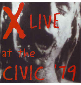 (Used LP) X – Live At The Civic '79 SOLD