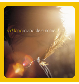 (LP) KD Lang - Invincible Summer 20th Ann Ed. (Flame Colour)