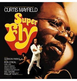 (LP) Curtis Mayfield - Superfly (Apple Red Vinyl)