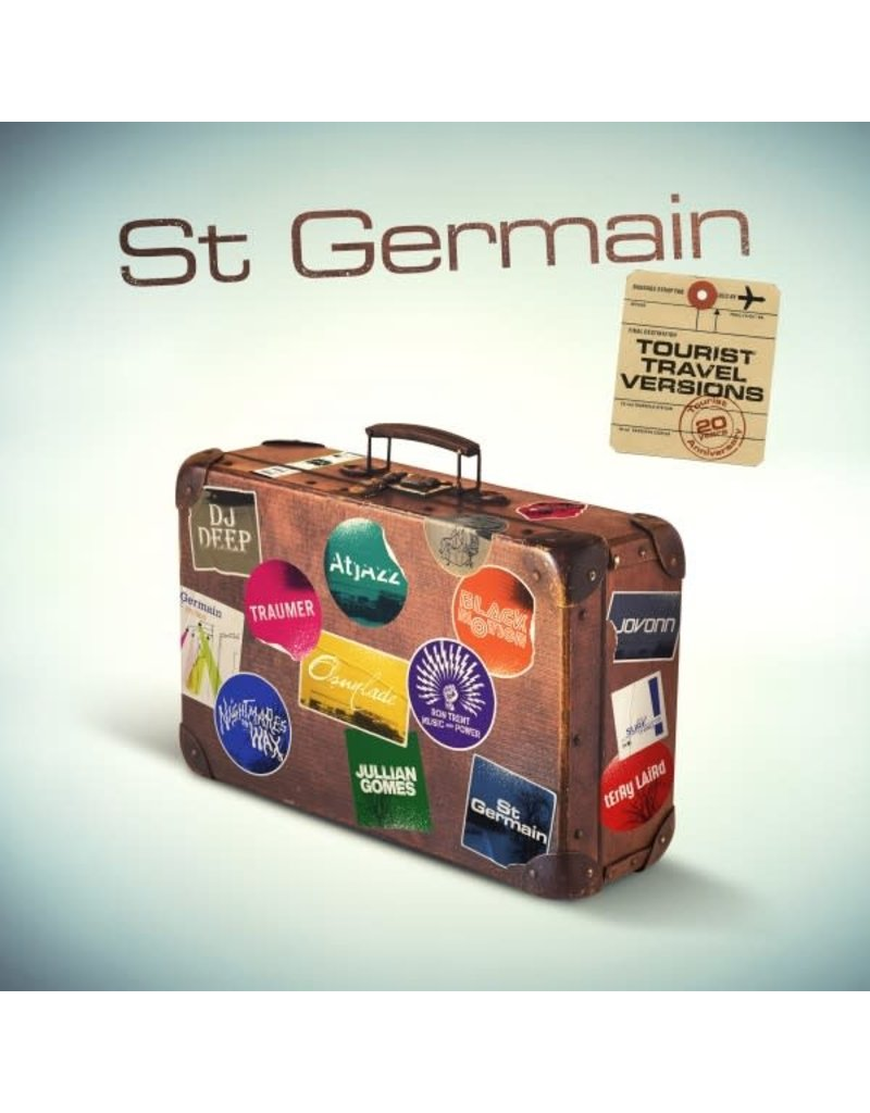 (CD) St Germain - Tourist (20th Anniversary Travel Versions)