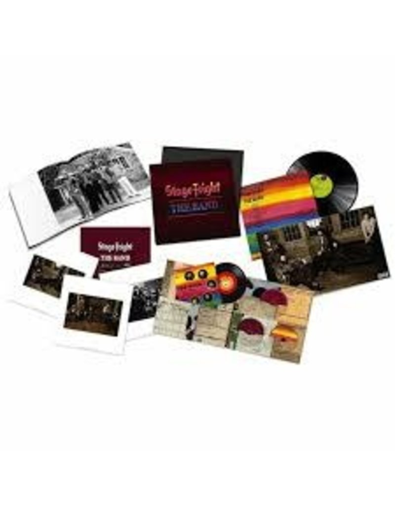 """(LP) Band - Stage Fright (Super Deluxe: LP/2CD/7""""/5.1 surround Blu-Ray)"""