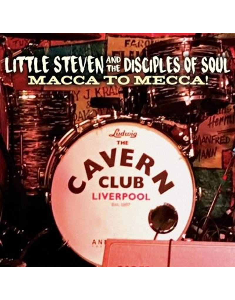 (CD) Little Steven - Macca To Mecca (CD/DVD)