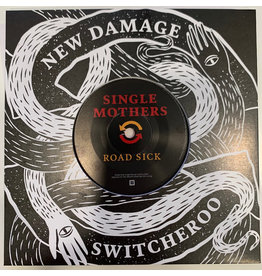 """New Damage Records (LP) Cancer Bats / Single Mothers - Switcheroo Vol. 1 (Red 7"""")"""