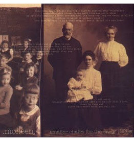(LP) Moneen - Smaller Chairs For The Early 1900s EP (Black Vinyl)