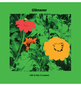 (LP) Glitterer - Life Is Not A Lesson (indie shop version/green)