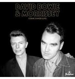 "(LP) Morrissey And David Bowie - Cosmic Dancer (7"")"