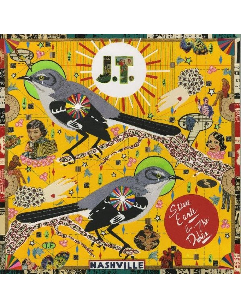 (LP) Steve Earle And The Dukes - J.T. (Justin Townes) *Indie Exclusive*