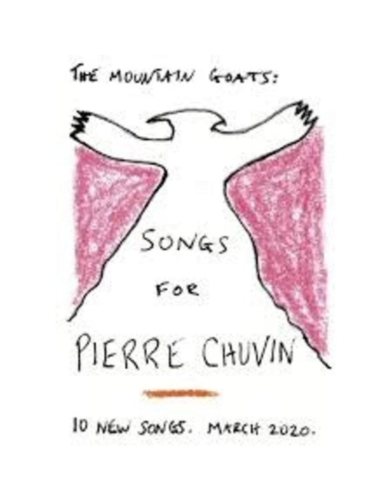 (CD) Mountain Goats - Songs For Pierre Chuvin