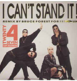 "(Used LP) Twenty 4 Seven - I Can't Stand It 12"" Single 568"