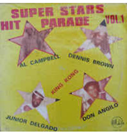 (Used LP) Various – Super Stars Hit Parade Vol. 1 (568)