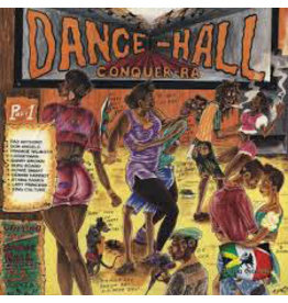 (Used LP) Various - Dance-Hall Conquer-Ra 568