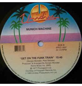 "(Used LP) Yello / Munich Machine – Oh Yeah / Get On The Funk Train 12"", 33 ⅓ RPM 568"