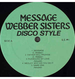 (Used LP) Webber Sisters - Disco Style 568