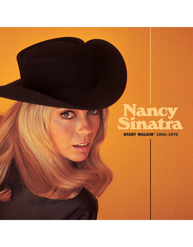 (CD) Nancy Sinatra - Start Walkin' 1965-1976 2CD + Book