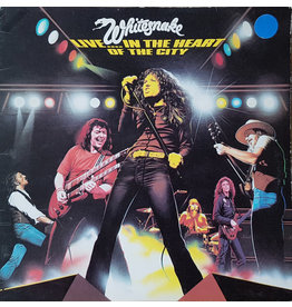 (Used LP) Whitesnake – Live... In The Heart Of The City SOLD