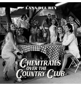 (LP) Lana Del Rey - Chemtrails Over the Country Club (Black Vinyl)