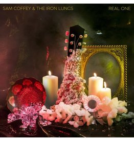 (LP) Sam Coffey & the Iron Lungs - Real One (Purple/Gold Marble)