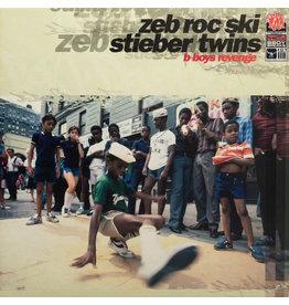 (Used LP) Zeb Roc Ski & Stieber Twins – B Boys Revenge (568)