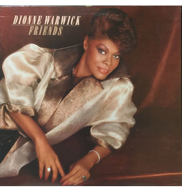 (Used LP) Dionne Warwick- Friends (568)