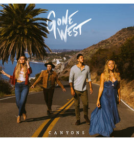 (Used LP) Gone West ‎– Canyons (white vinyl)