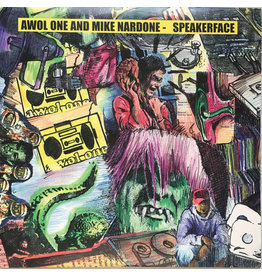 (Used LP) Awol One And Mike Nardone ‎– Speakerface (2LP)