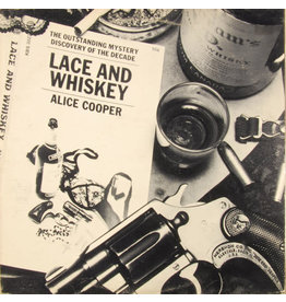 (Used LP) Alice Cooper- Lace And Whiskey (568)
