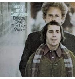 (LP) Simon and Garfunkel -  Bridge Over Troubled Water (Clear Vinyl/2021 Reissue)