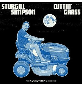 High Top Mountain (LP) Sturgill Simpson - Cuttin' Grass - Vol. 2 (Indie: Opaque Blue W/White Swirl 2LP, in original poly sleeve) Cowboy Arms Sessions