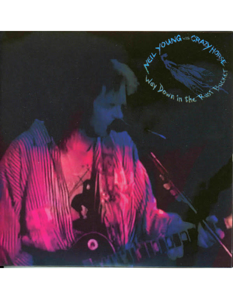 (CD) Neil Young & Crazy Horse - Way Down In The Rust Bucket (2CD)