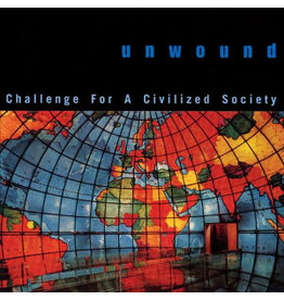 (LP) Unwound - Challenge For A Civilized Society (global splatter)
