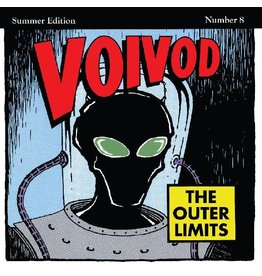 """(LP) Voivod - The Outer Limits (""""Rocket Fire"""" Red with Black Smoke Vinyl)"""