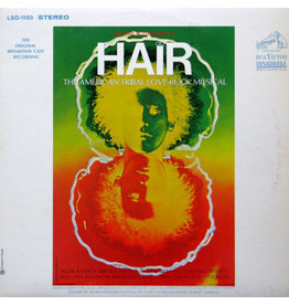(Used LP) Various ‎– Hair - The American Tribal Love-Rock Musical - The Original Broadway Cast Recording