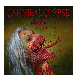 (LP) Cannibal Corpse - Violence Unimagined (white/olive melt)