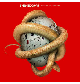 Atlantic (LP) Shinedown - Threat To Survival (Clear Red)