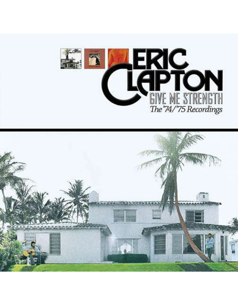 (Used LP) Eric Clapton ‎– Give Me Strength (The '74/'75 Recordings)